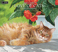 Lang: Love Of Cats Wall Calendar 2016