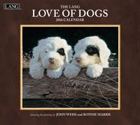 Lang: Love Of Dogs Wall Calendar 2016