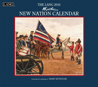 Lang: New Nation Wall Calendar 2016