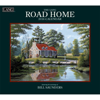 Lang: Road Home Wall Calendar 2016