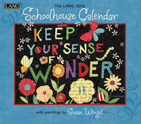 Lang: Schoolhouse Wall Calendar 2016 by Lang