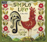 Lang: Simple Life Wall Calendar 2016