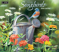 Lang: Songbirds Christian Wall Calendar 2016 by Lang