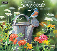 Lang: Songbirds Wall Calendar 2016 by Lang