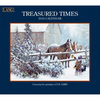 Lang: Treasured Times Wall Calendar 2016