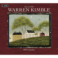 Lang: Warren Kimble Wall Calendar 2016