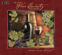 Lang: Wine Country Wall Calendar 2016