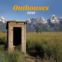 Outhouses Wall Calendar 2016 9781469333151
