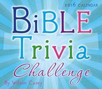 Bible Trivia Challenge Daily Calendar Page-A-Day Calendar 2016