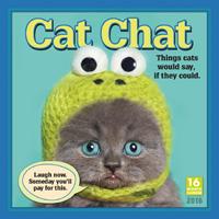 Cat Chat Wall Calendar 2016