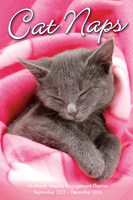 Cat Naps Weekly Engagement Planner Calenar 2016