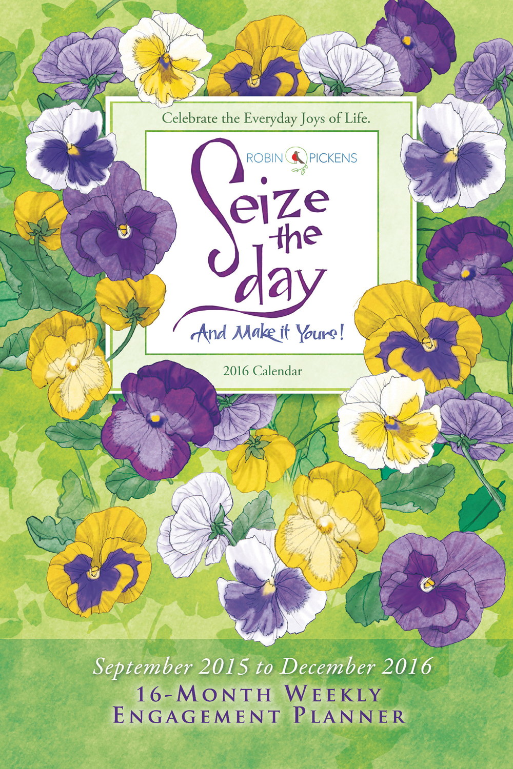 Seize The Day Planner 2016 Cw9855 Inspirational