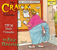 The Crack Page-A-Day Calendar 2016