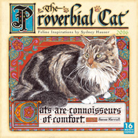 The Proverbial Cat Wall Calendar 2016