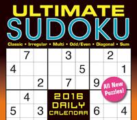 Ultimate Sudoku Page-A-Day Calendar 2016