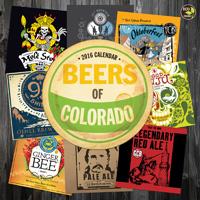 Beer Labels of Colorado Wall Calendar 2016