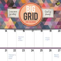 Big Grid: Design Wall Calendar 2016