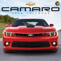 Camaro Wall Calendar 2016