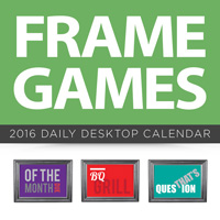 Frame Games Page-A-Day Calendar 2016