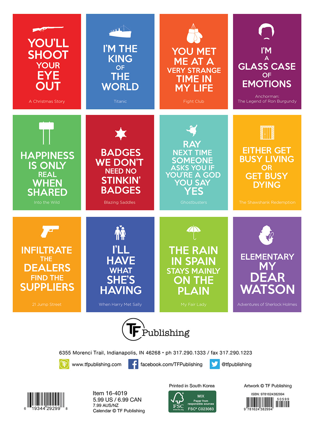 Calendar Planning Quotes : Keep calm quote movies planner calendar