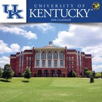 Kentucky, University of Wall Calendar 2016