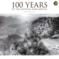 National Parks 100 Years Wall Calendar 2016