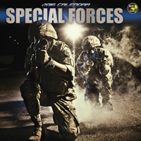 Special Forces Wall Calendar 2016