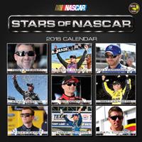 Stars of NASCAR Wall Calendar 2016
