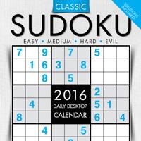 Sudoku Page-A-Day Calendar 2016