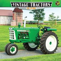 Vintage Tractors Wall Calendar 2016
