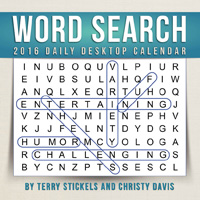Word Search Page-A-Day Calendar 2016