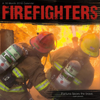 Firefighters Wall Calendar 2016