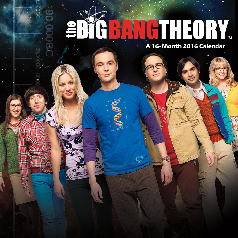 The Big Bang Theory Mini Wall Calendars 2016 9781438839332