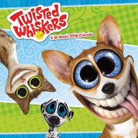 Twisted Whiskers Wall Calendar 2016