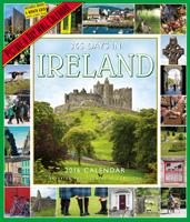 365 Days In Ireland Wall Calendar 2016