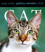 Cat Gallery Page-A-Day Calendar 2016