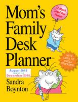 Mom's Family Desk Planner Engagement Planner 2016
