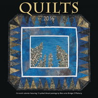 Quilts Wall Calendar 2016 by Wyman