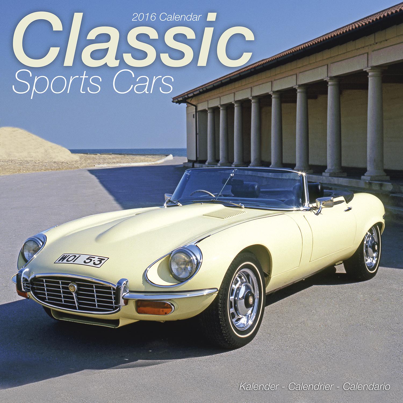 classic sports cars calendar 2016 pet prints inc