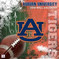Auburn Tigers Wall Calendar 2016