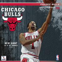 Chicago Bulls Wall Calendar 2016