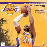 Los Angeles Lakers Wall Calendar 2016