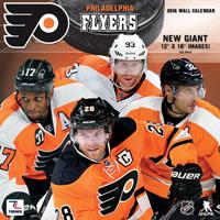 Philadelphia Flyers Wall Calendar 2016