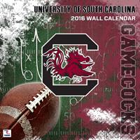 South Carolina Gamecocks Wall Calendar 2016